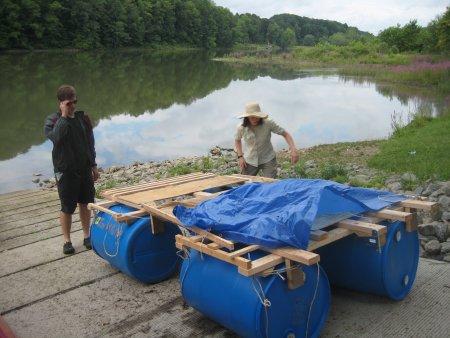 Attach Barrels Begin Loading Equipment
